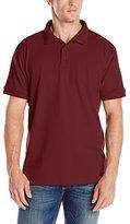 Classroom Uniforms Classroom Men's Adult Unisex Short-Sleeve Interlock Polo Shirt