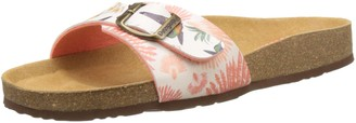Desigual Shoes Bio1 Colibri Tropical Women Heels Sandals