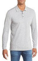 Nordstrom Long Sleeve Piqué Polo (Big)