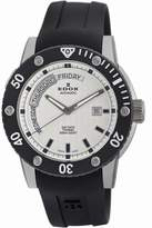 Edox Men's 83005 TIN AIN Class-1 Day White Dial watch.