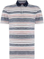 Linea Men's Washington slub stripe polo
