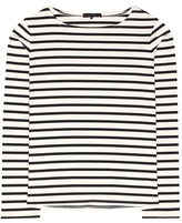 The Row Moris striped cotton top