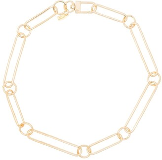Kenneth Jay Lane Large Chain-Link Necklace