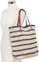 Asstd National Brand Striped Tote Bag