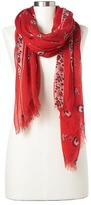 Gap Floral bandana scarf