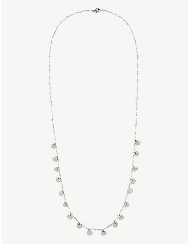 The White Company Silver-toned necklace