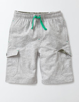 Boden Jersey Cargo Shorts