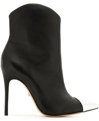Schutz S0209104790008 BLACK(MI) Furs & Skins->Leather