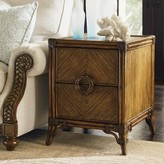 Tommy Bahama Bali Hai End Table with Storage Home