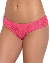 Betsey Johnson Love Lace Crochet Cheeky Hipster Bottom