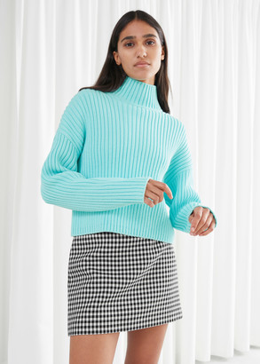 And other stories Chunky Ribbed Turtleneck Sweater