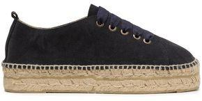 Manebi Hamptons Suede Espadrille Sneakers