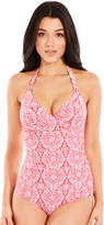Fantasie San Francisco Underwired Gathered Control Halter Swimsuit