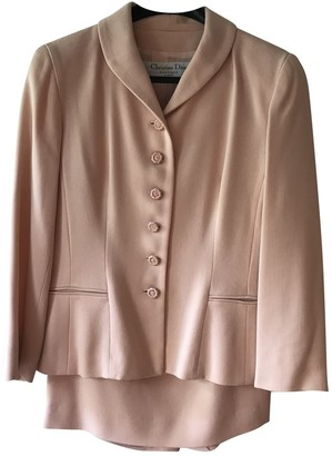 Christian Dior Pink Wool Jackets