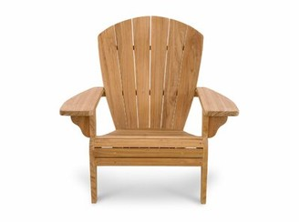 Adirondack Ernie Teak Chair Highland Dunes