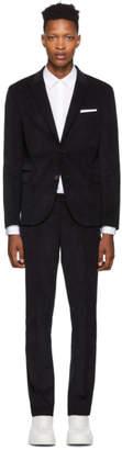 Neil Barrett Navy Corduroy Suit