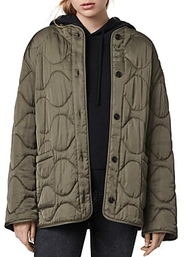 AllSaints Torin Quilted Coat