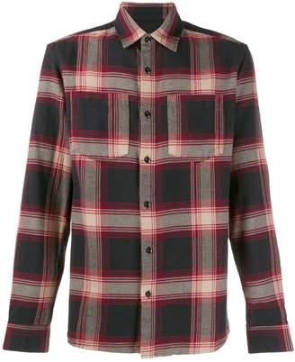 Woolrich check long-sleeve shirt