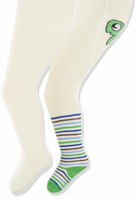 Playshoes Baby Girls' Schildkrote und Unifarben mit Komfortbund Tights