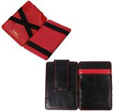 YCM010204 Chocolate Leather Magic Wallet with Card Holders Happy For Dad With Gift Box By Y&G