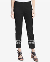 Karen Kane Embroidered Cropped Pants, a Macy's Exclusive Style