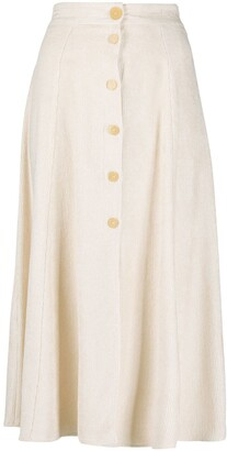 Forte Forte Button-Down Skirt