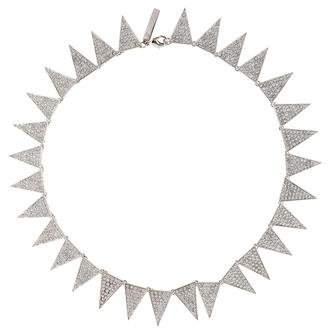Eddie Borgo Spike Pavé Collar Necklace