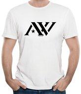 Roy Men's Famous American Nation Boxer Andre Ward Logo Polo Shirt T-Shirt