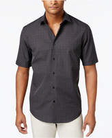 Alfani Men's Grid-Pattern Shirt, Created for Macy's