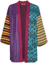 Missoni Intarsia knit patchwork cardigan