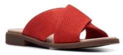 Clarks Collection Women's Declan Ivy Flat Sandals Women's Shoes