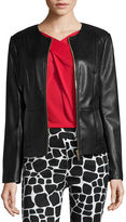 Liz Claiborne Faux Leather Jacket