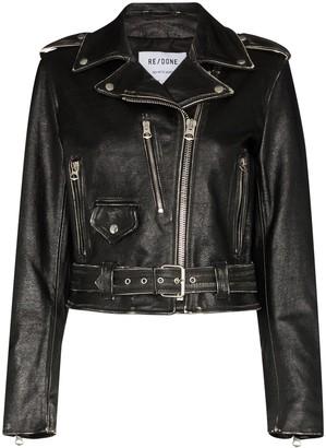 RE/DONE Moto biker jacket