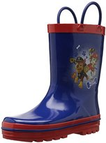 Nickelodeon Josmo Character Shoes Kids' Paw Patrol Boys Easy on Loops Rain Boot