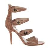 Max Studio Saffy - Snakeskin Turnlock Sandal