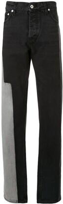 Heron Preston Patchwork Loose Fit Jeans