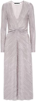 Rotate by Birger Christensen Pleated midi dress