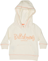 Billabong Tots Girls Candy Pullover Hoodie White