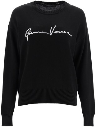 Versace GV Signature Sweatershirt