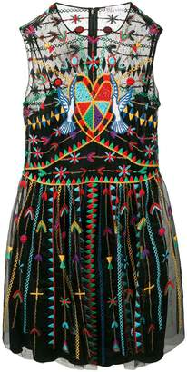 RED Valentino Love Celebration mini dress