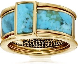 Barse Turquoise Two Piece Ring Size 7
