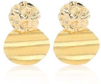 PEET DULLAERT Lakos 14kt and 24kt gold-plated earrings