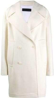 Haider Ackermann Double-Breasted Oversized Coat
