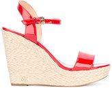 MICHAEL Michael Kors wedge sandals - women - Goat Skin/Leather/rubber - 7.5