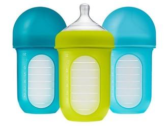 Boon NURSH 8oz Bottle 3pk - Blue Multi