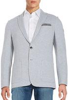 Michael Kors Cotton-Blend Knit Jacket