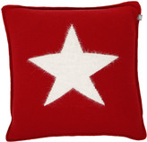 Gant Angora Big Star Knit Cushion - Red - 50x50cm