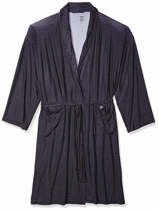 Stacy Adams Men's Big and Tall Shawl Robe