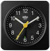 Braun Analogue Travel Alarm Clock - Black