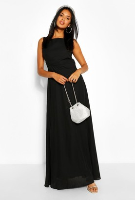 boohoo Occasion Low Back Maxi Dress